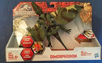 Jurassic World Growler DIMORPHODON dinosaur action figure with Lights & Sounds