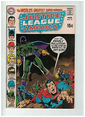JUSTICE LEAGUE OF AMERICA 79 VG-F Mar. 1970