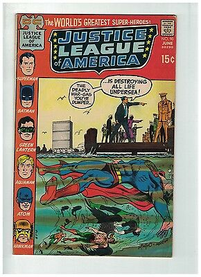JUSTICE LEAGUE OF AMERICA 90 VG-F June 1971