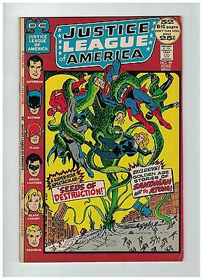 JUSTICE LEAGUE OF AMERICA 99 VG-F June 1972