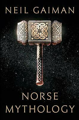 Norse Mythology by Neil Gaiman (English) Hardcover Book Free Shipping!