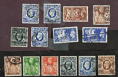 GREAT BRITAIN 289 275 251 251a ETC VF   (CT22