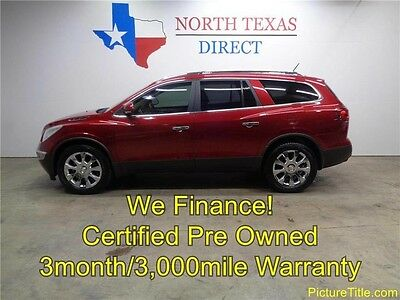2012 Buick Enclave  12 Enclave Prem Leather 3rd Row Heat Cool Seat GPS Nav Sunroof We Finance Texas