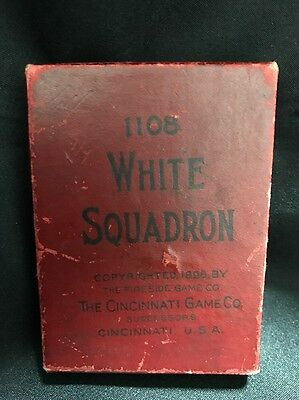 1896 White Squadron United States Military Ships Game Cincinnati Game Co.
