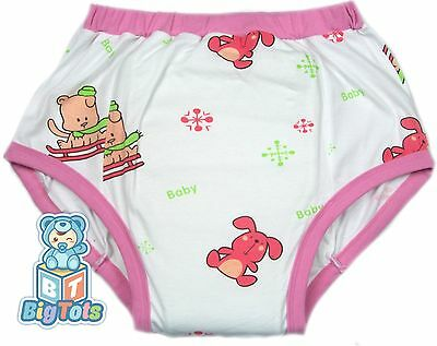 *Big Tots*  Puppy's & Bunny's  training pants  Adult Baby