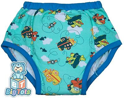 *Big Tots*  Airplane Teddy's training pants adult Baby