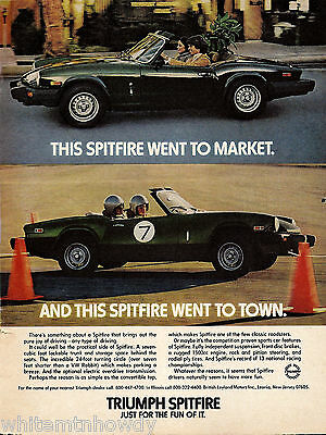 1979 Triumph Spitfire Sports Car Photo AD