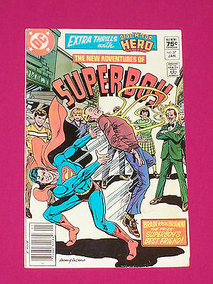 New Adventures of Superboy #37 DC Comics 1983 Key...1st Firecracker & Silhouette
