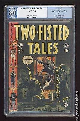 Two Fisted Tales (1950 EC) #41 PGX 8.0