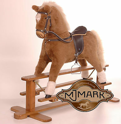 Brand NEW Beautifully handmade rocking horse MARS by MJMARK BARGAIN 4 CHRISTMAS