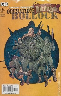 Adventures in the Rifle Brigade Operation Bollock (2001) #3 VF