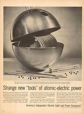 1958 vintage AD Independent Electric Light and Power Atomic Electric  050415