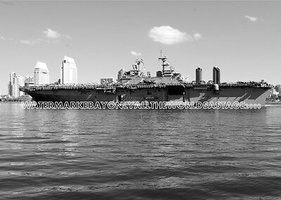 USS Boxer LHD 4 8x12 Photo NAVY CV USMC Military Veteran SHIPMATE cvn 8X12