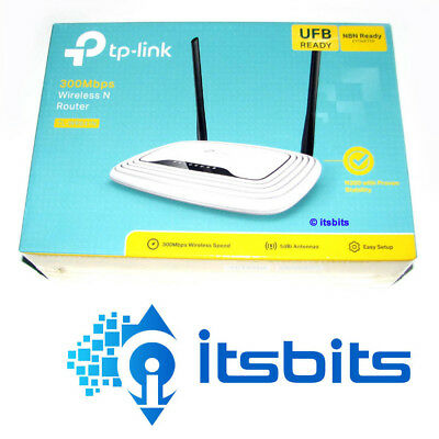 Tp-Link Tl-Wr841N Wireless N + 4 Port Router Suits Adsl & Broadband Nbn Ready