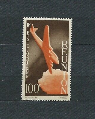 Réunion - 1947 Yt 43 - Poste Aerienne - Timbre Neuf** Luxe