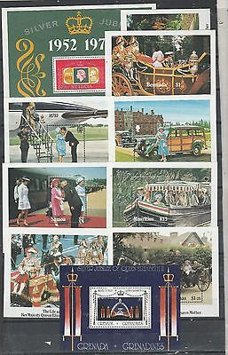 COMMONWEALTH 10 x MINT NEVER HINGED MINI SHEETS