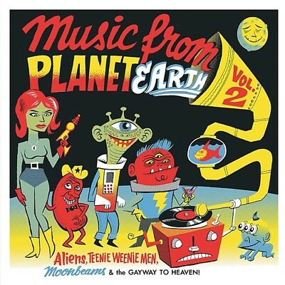 Various - Music From Planet Earth 02 Vinyl Maxi Stag-O-Lee NEU