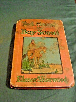 Vintage Ted Marsh The Boy Scout Book By Elmer Sherwood