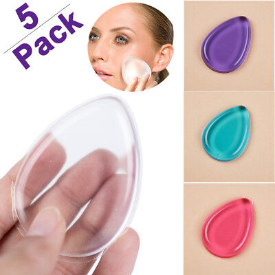 Lots Silicone Gel Sponge Cosmetic Puff Beauty Makeup Cream Foundation Silisponge