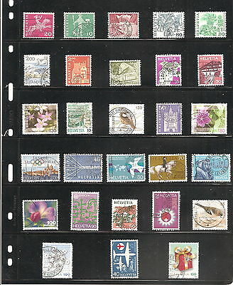 Sheet Of 28    Switzerland   Fine Used   Stamps