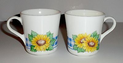 Corning Corelle SUNSATIONS Coffee Cups (2)