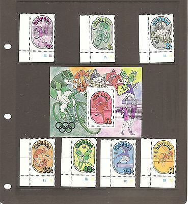 Collection Of Grenada  1976 Olympic  Games  Mint Stamps