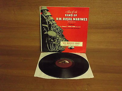 Music by the Band of H.M. Royal Marines : Vinyl Album : HMV : CLP 1016