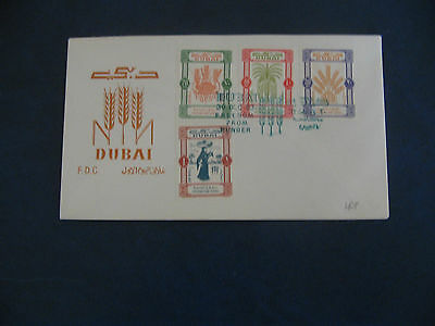 Dubai 1963 Freedom from Hunger  FDC