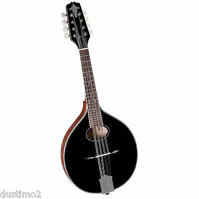 Trinity College Tm-250B Standard Celtic Mandolin, Black Top. Brand New! [Tm250]