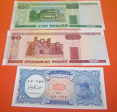 3 Foreign Bank Note's (23 B)