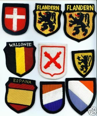 German Volunteer Country Patches Denmark