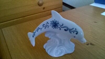 Lenox Pottery Dolphin Ornament. Charity Sale