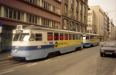 Photo  1995 Norway Tram Oslo Tram No 279 On Route 12