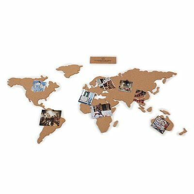 Luckies of London Corkboard Adhesive Map (LUKCORK) Picture your World