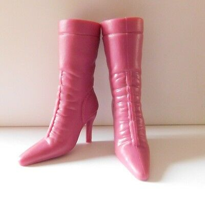 Barbie My Scene Doll Clothes Original Pink Slim Fit Heeled Boots