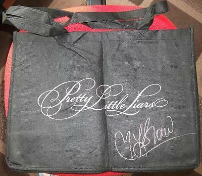 SIGNED Pretty Little Liars Tote Bag autographed by Lindsey Shaw Paige McCullers