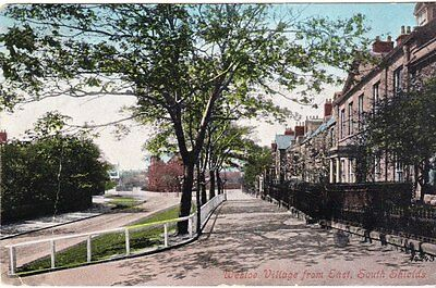 South Shields - Westoe village, from east - post card 1905