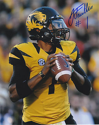 James Franklin Signed Autographed Mizzou Missouri Tigers 8X10 Photo Proof