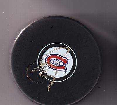 Shea Weber Signed Autographed Montreal Canadiens Puck  Proof