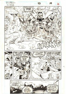 Guardians of the Galaxy #53 p.26 - Drax the Destroyer Splash 1994 by Scott Eaton