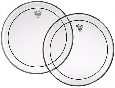 Remo Pinstripe Clear Drum Head Skin. Various Sizes Available & Bass Drum Heads