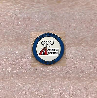 Noc Of Norway Olympic Official Pin Nagano 1998