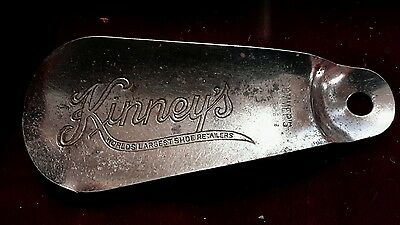 metal Kinny's vintage shoe horn world's largest shoe retailers