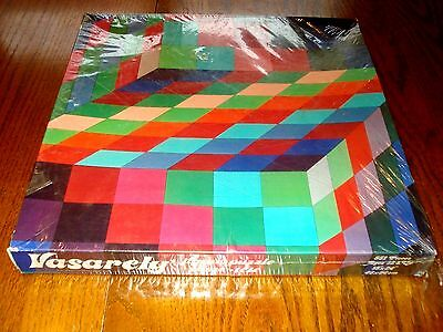 1980 VASARELY  551 Piece Jigsaw Puzzle Sealed