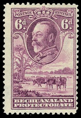 """BECHUANALAND 110 (SG104) - King George V """"Cattle and Baobab Tree"""" (pa54366)"""