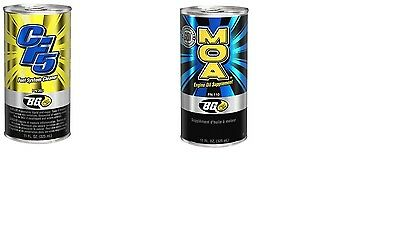 BG Products 6550 MOA 110 Oil Treatment & CF5 Fuel Additive MORE MPG SAVE MONEY
