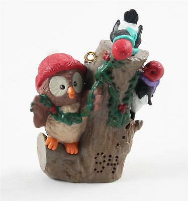 Hallmark KS Ornament Owliver 3rd & Final in Series 1994 Owl Woodpeckers