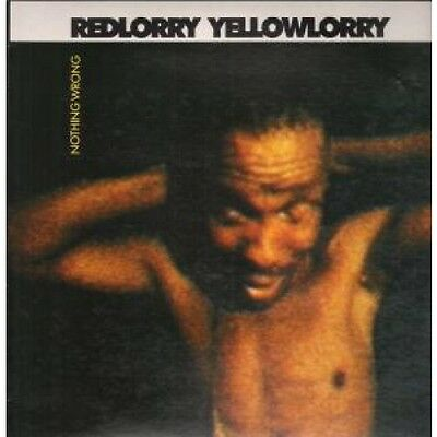 RED LORRY YELLOW LORRY Nothing Wrong LP VINYL European Situation 2 1988 12
