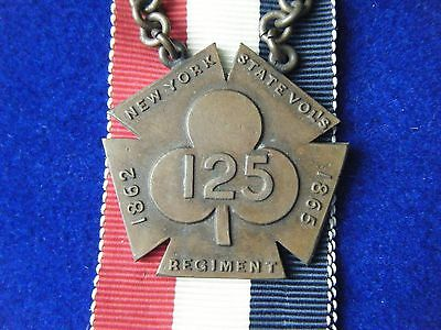 125th New York Infantry Regimental Medal - 2nd Corps