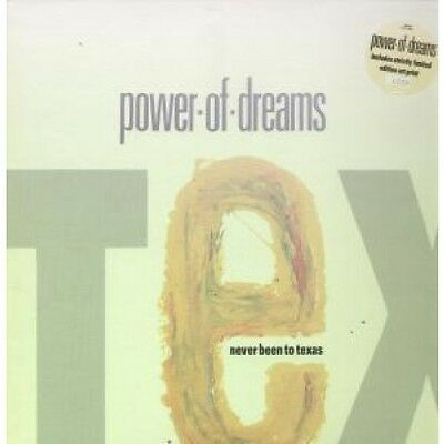 "POWER OF DREAMS Never Been To Texas 12"" VINYL UK Polydor 1990 4 Track Limited"
